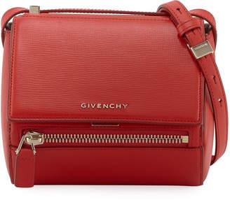 Givenchy Pandora Box Mini Leather Crossbody Messenger Bag