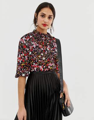 Whistles Floral Meadow top