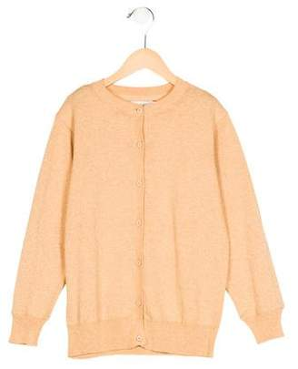 Stella McCartney Girls' Metallic Button-Up Cardigan