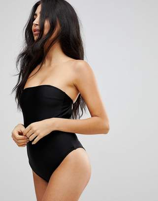 Playful Promises High Leg Swimsuit with Removable Multiway Straps
