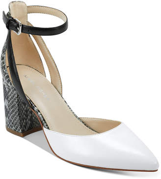 Marc Fisher Raie Block-Heel Pumps Women Shoes