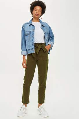 Topshop High Waist Utility Trousers
