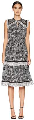 Kate Spade Broome Street Plains Ditsy Rayon Dress Women's Dress