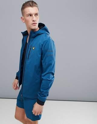 Lyle & Scott Fitness ultra tech running jacket in teal
