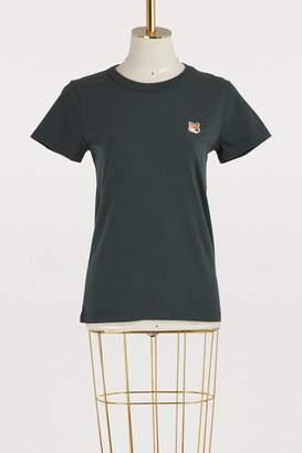 MAISON KITSUNÉ Fox cotton T-shirt