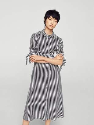 MANGO Shirt Dress - Stripe