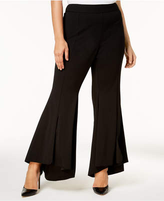 87c6910d160 INC International Concepts I.n.c. Plus Size Flared High-Low Hem Pants