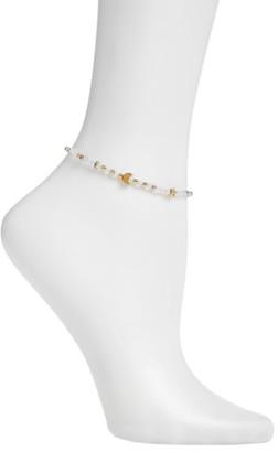 Women's Ettika Opal Charm Anklet $40 thestylecure.com