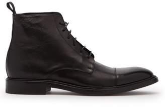 Paul Smith Jarman Leather Boots - Mens - Black
