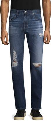 AG Adriano Goldschmied Men's Matchbox Slim Straight Jeans