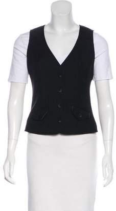 Diane von Furstenberg Tux Reene Wool Vest