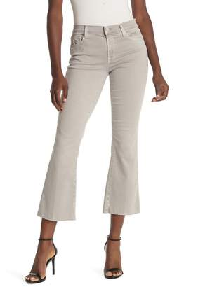 J Brand Selena Frayed Hem Boot Cut Jeans