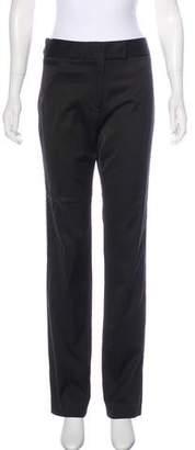 Peter Som High-Rise Straight-Leg Pants