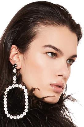 Saint Laurent Rectangle Earrings
