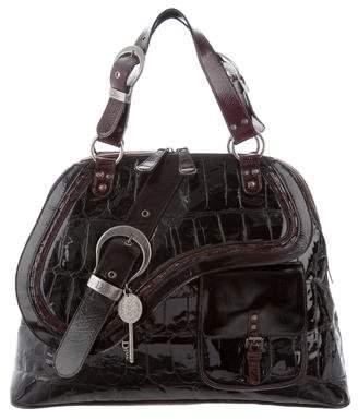 Christian Dior Gaucho Dome Bag