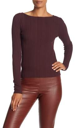 Theory Hankson Prosecco Long Sleeve Sweater