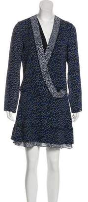 Proenza Schouler Silk Printed Dress w/ Tags