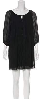 Diane von Furstenberg Keoni Pleated Mini Dress