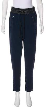 David Lerner High-Rise Skinny Pants