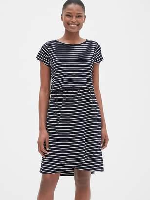 Gap Maternity Stripe Layered Nursing T-Shirt Dress