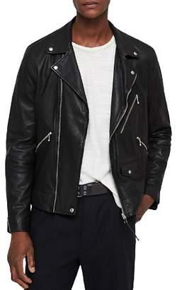 AllSaints Holt Leather Biker Jacket