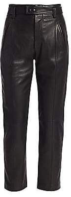 Joie Women's Trula Leather Ankle Pants