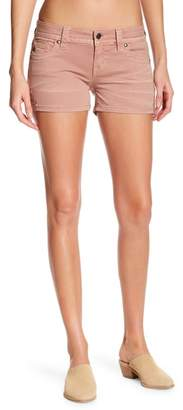 Miss Me Metallic Stitch Accent Shorts