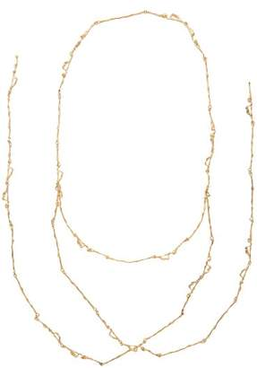 Lemaire X Joanne Burke Twig Necklace - Womens - Gold