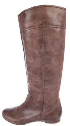 Chloé Leather Knee-High Boots brown Chloé Leather Knee-High Boots