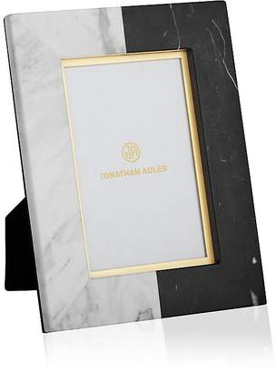 """Jonathan Adler Canaan Marble 4"""" x 6"""" Picture Frame"""