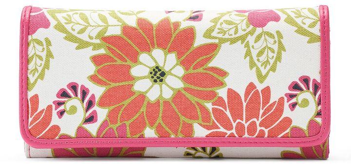 Croft & Barrow® File Master RFID-Blocking Floral Clutch