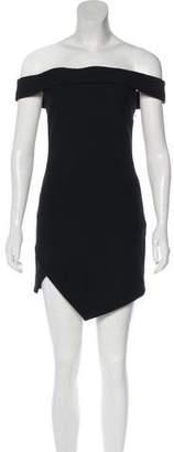 Elizabeth and James Mini Off-Shoulder Dress w/ Tags
