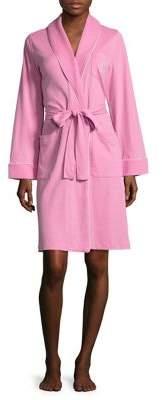 Lauren Ralph Lauren Diamond Quilted Shawl Robe