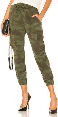 Pam & Gela Bronze Side Stripe Camo Pant