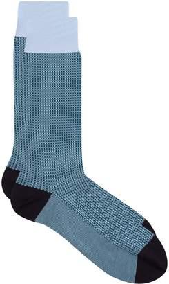 Pantherella Jacquard Woven Socks