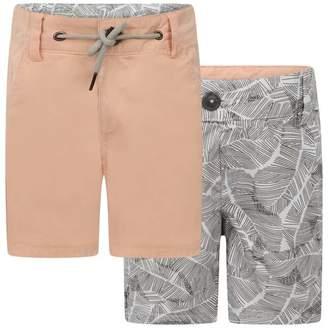 Ikks IKKSBaby Boys Reversible Bermuda Shorts