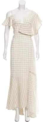 Adeam Gingham Maxi Dress w/ Tags