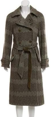Tory Burch Wool Long Coat