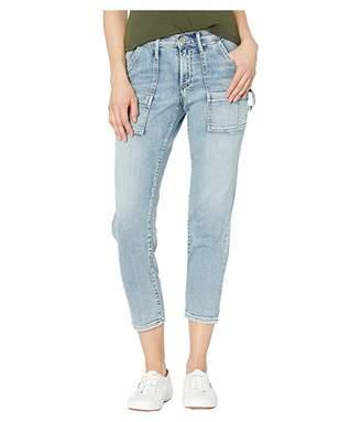 Silver Jeans Co. In the Loop Mid-Rise Slim Leg Carpenter Jeans in Indigo L27355SOP126