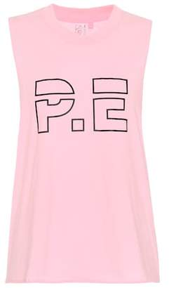 P.E Nation Ramp Up cotton tank top