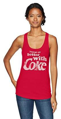 Coca Cola Women's Better with Coke Ideal Racerback Graphic Tank Top