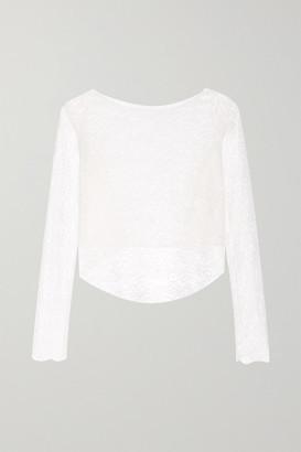 Rime Arodaky Perry Asymmetric Lace Top - White