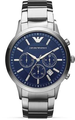 Emporio Armani Renato Bracelet Watch, 43mm