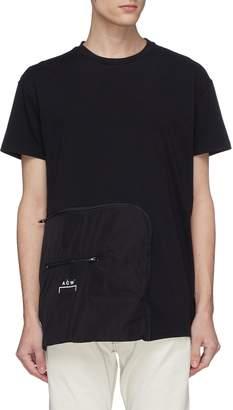 A-Cold-Wall* Split outseam zip pocket T-shirt