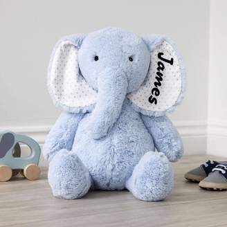 My 1st Years Personalised Large Blue Elephant Soft Toy