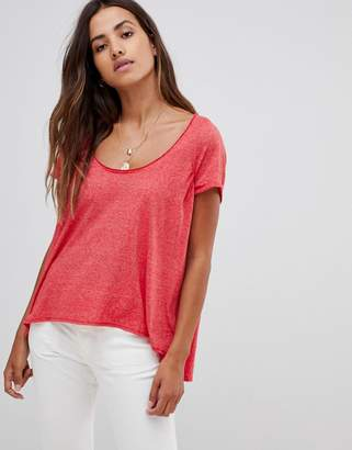 Free People Nori relaxed t-shirt