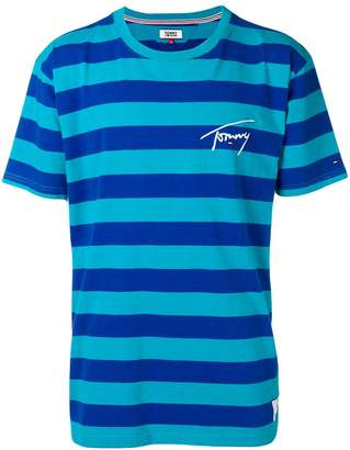 Tommy Jeans Signature striped T-shirt