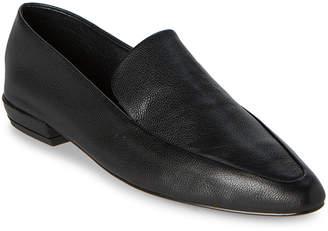 Steven by Steve Madden Black Haylie Leather Loafers
