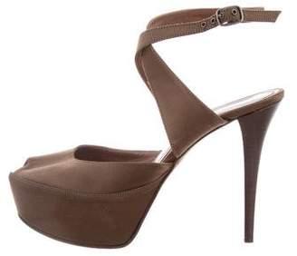 Marni Peep Toe Platform Sandals