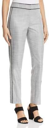 T Tahari Ivana Piped Straight-Leg Pants